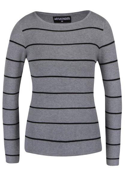 Bluză gri în dungi Haily´s Karen