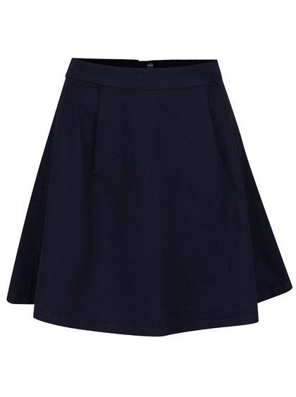 Tmavě modrá sukně VILA