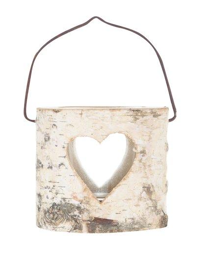 Suport de lumânare Sass & Belle din lemn