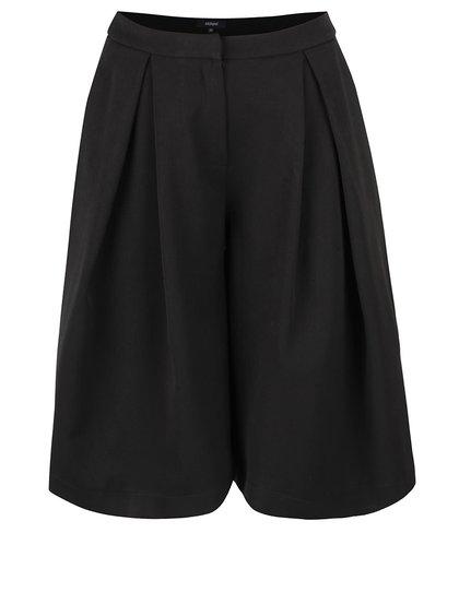 Čierne krátke culottes nohavice Alchymi Payette