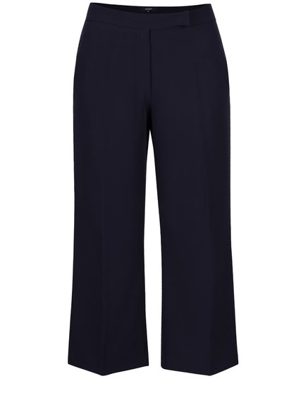 Tmavě modré culottes kalhoty Alchymi Anza