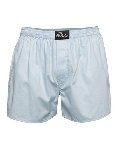 Boxeri albastru deschis El.Ka Underwear pentru bărbați