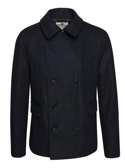 Tmavě modrý krátký kabát Jack & Jones Tiverton