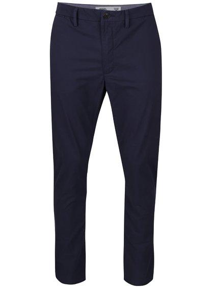 Tmavomodré chino nohavice Burton Menswear London