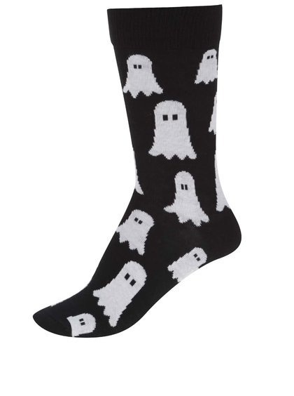 Čierne unisex ponožky so strašidlami ZOOT Originál