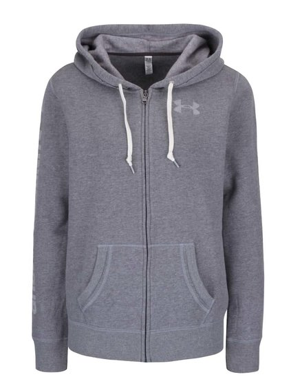Hanorac Under Armour Favorite Fleece Full Zip gri