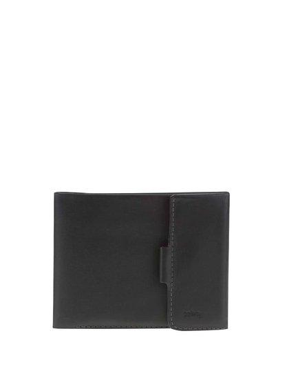Čierna kožená peňaženka na mince Bellroy Coin Fold
