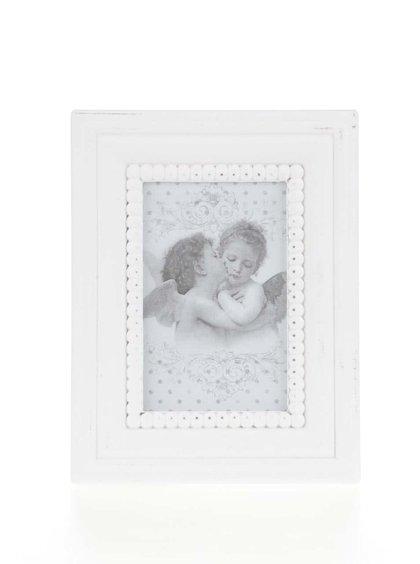 Bílý vintage fotorámeček Dakls
