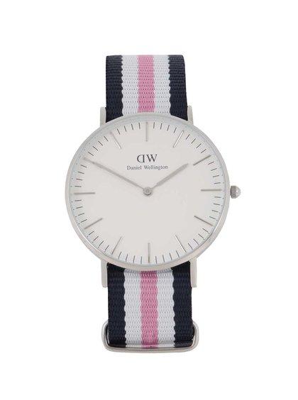 Dámské hodinky ve stříbrné barvě CLASSIC Southhampton Daniel Wellington