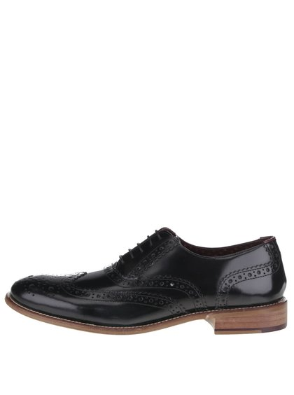 Pantofi oxford negri Gatsby London Brogues