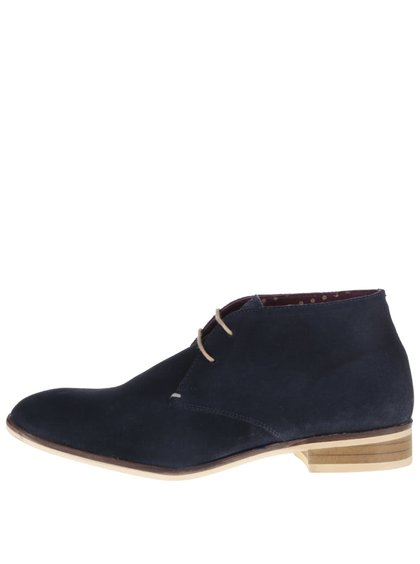 Ghete chukka bleumarin London Brogues Croxley