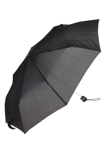 Černý pánský skládací deštník bugatti