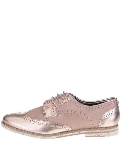 Pantofi Oxford bej Ted Baker Anoihe din piele