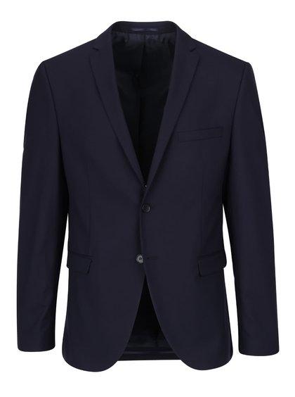 Tmavomodré oblekové sako Selected Homme Newone