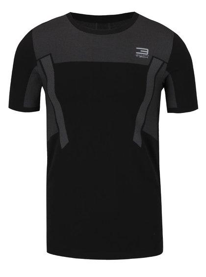 Tricou negru pentru antrenament Jack & Jones