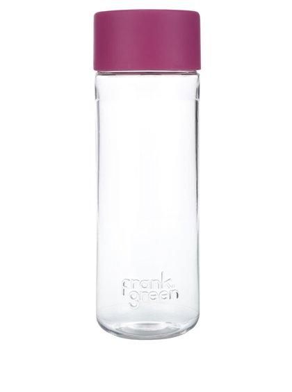 Láhev na vodu SmartBottle s růžovým víčkem Frank Green 740 ml