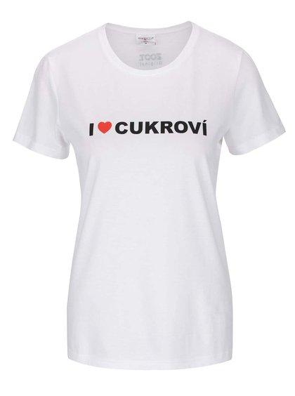 Dámské tričko ZOOT Originál I ♥ CUKROVÍ