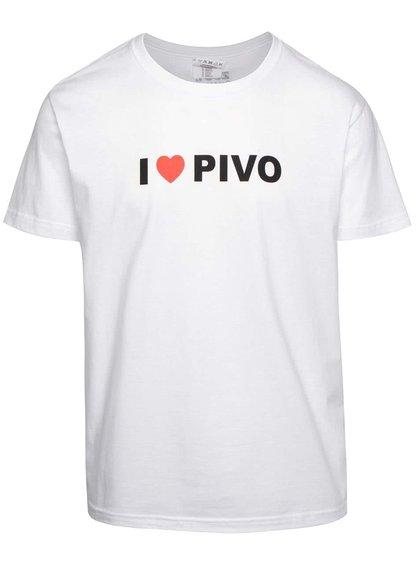 Pánské tričko ZOOT Originál I ♥ PIVO