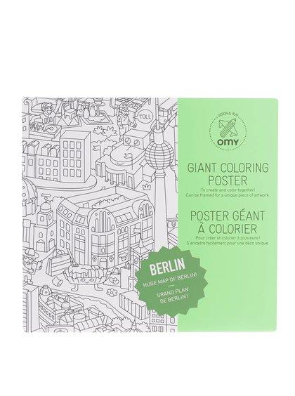 Velká omalovánka Berlín OMY