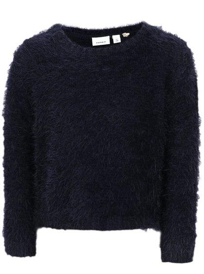 Tmavomodrý dievčenský sveter name it Nassi