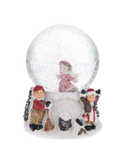 Biele snežítko s dievčinou Dakls