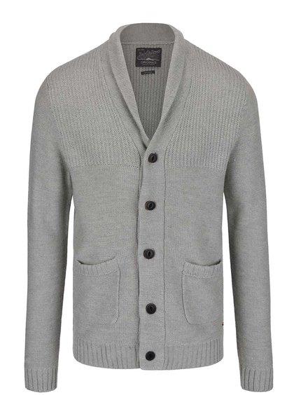 Světle šedý svetr s kapsami Jack & Jones Anthon