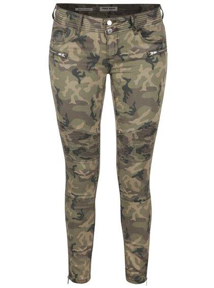 Pantaloni skinny TALLY WEiJL cu model - camuflaj