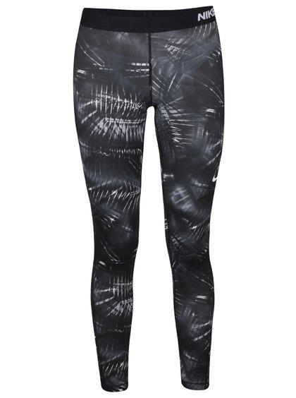 Černé dámské legíny Nike Pro Warm Tight