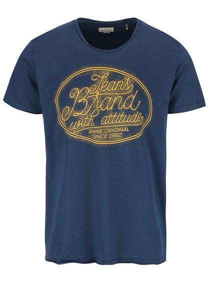 Tmavě modré triko s potiskem Shine Original Core original
