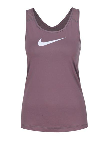 Fialové dámske tielko Nike Pro Tank