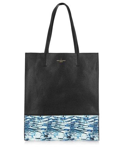Modro-černý shopper se vzorem Paul's Boutique Elena