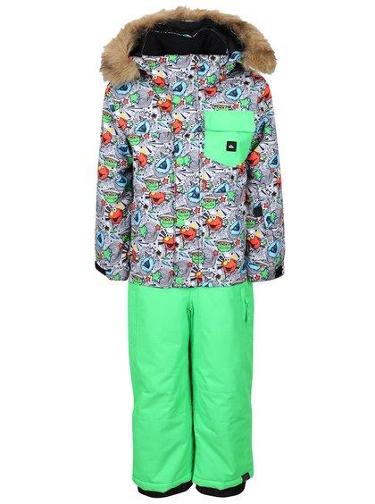 Costum pentru ski verde Quiksilver