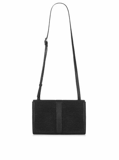 Geantă crossbody neagră cu model texturat Paul's Boutique Sabrina