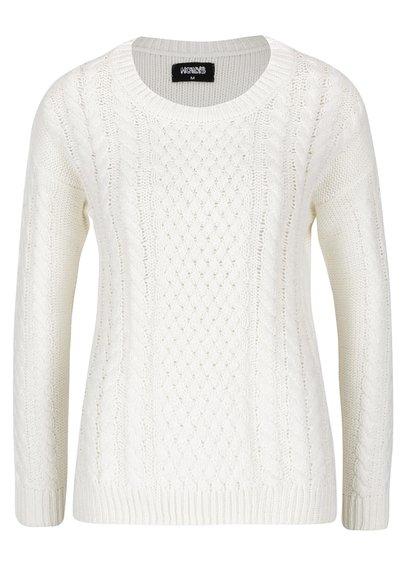 Krémový vzorovaný svetr Haily´s Nelly