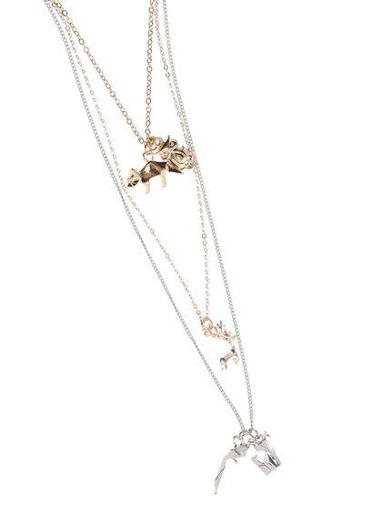 Set náhrdelníků a přívěsků ve zlaté a stříbrné barvě TALLY WEiJL