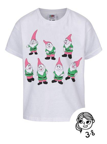 Tricou de fete ZOOT Kids 7 Dwarfs alb