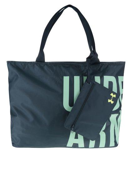 Tmavozelená dámska športová taška Under Armour Big World
