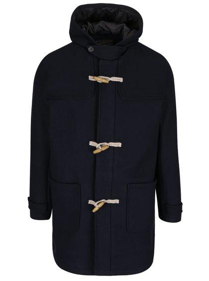 Palton bleumarin Jack & Jones Danny cu glugă