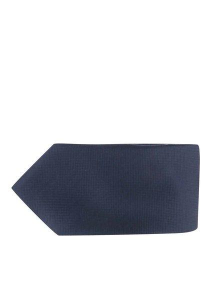 Tmavomodrá hodvábna kravata Jack & Jones
