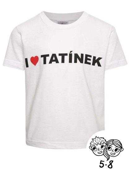 Bílé dětské unisex triko ZOOT Kids - I Love Tatínek