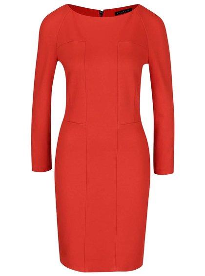 Rochie roșie cu fermoar Pietro Filipi