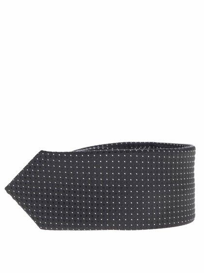 Cravată neagră name it Pisp cu model discret