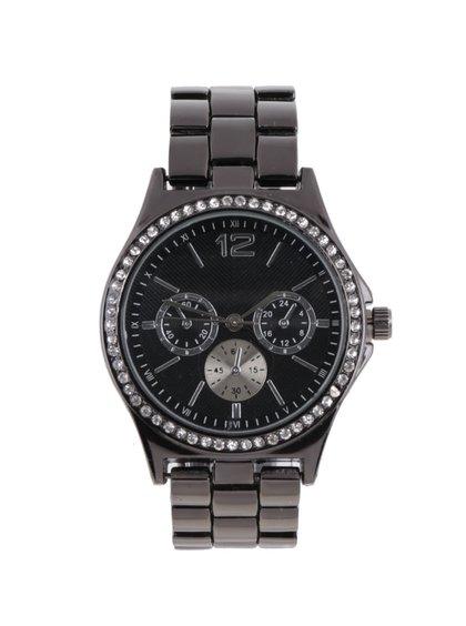 Ceas negru cu aplicații Haily´s Penny Mixy