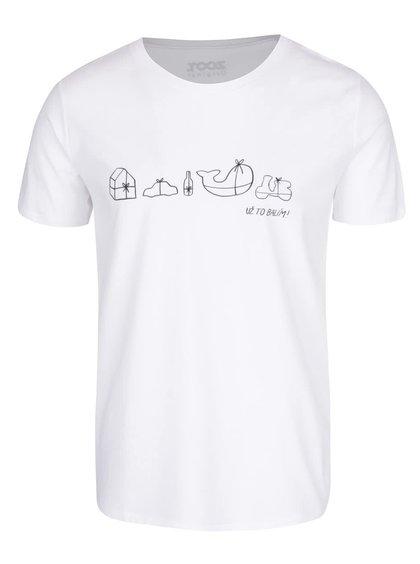 Bílé pánské triko s potiskem ZOOT Originál Už to balím