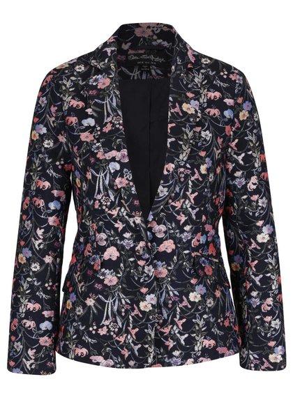 Růžovo-modrý květované sako Miss Selfridge