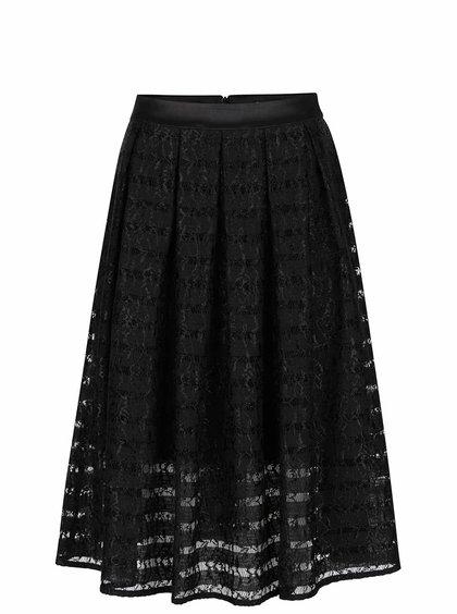 Černá krajková sukně Miss Selfridge