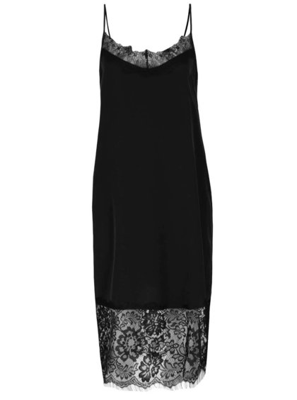 Černé krajkové šaty ONLY Maria