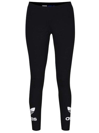 Černé dámské legíny s logem adidas Originals