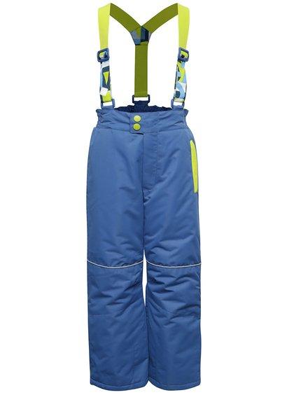 Zeleno-modré klučičí zimní kalhoty 5.10.15.