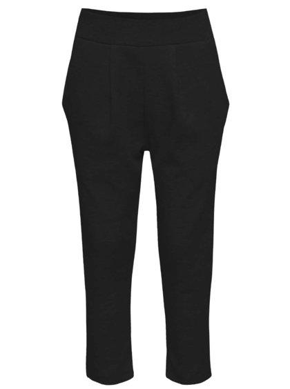 Čierne dievčenské elastické nohavice s pukmi name it Line